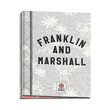 Carpeta Archivador Anillas Franklin & Marshall Grils 53017, Folio 4 Anillas (Gris)