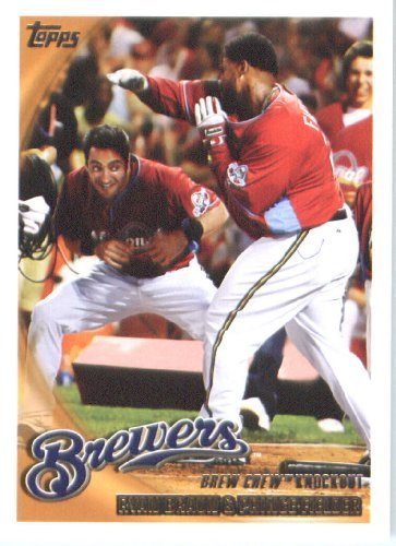 2010 Topps Baseball Card #237 Ryan Braun-Prince Fielder Milwaukee Brewers - MLB Trading Card