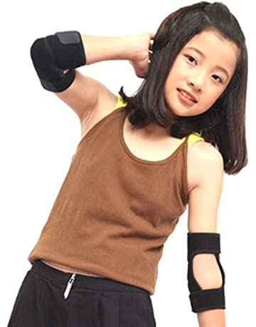 79fa83c752e ITODA Kids Protective Gear Elbow Pads with Adjustable Wrist Guard Elbow  Support Brace