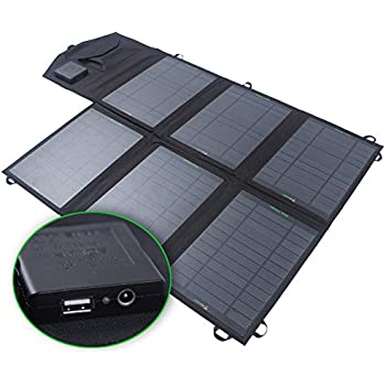 Amazon Com Sunkingdom 39w 2 Port Dc Usb Solar Charger