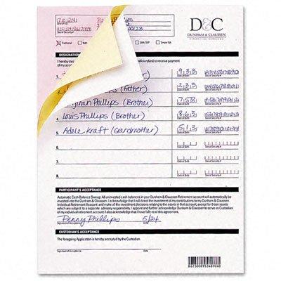 - Nekoosa 17393 Fast Pack Digital Carbonless Paper, 8-1/2 x 11, White (Case of 2500 Sheets)