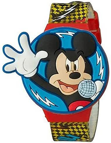 Mickey Mouse Clubhouse LCD Watch with Flip Top Lid