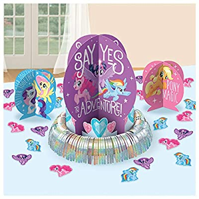 Table Decorating Kit | My Little Pony Friendship Collection | Party Accessory: Toys & Games