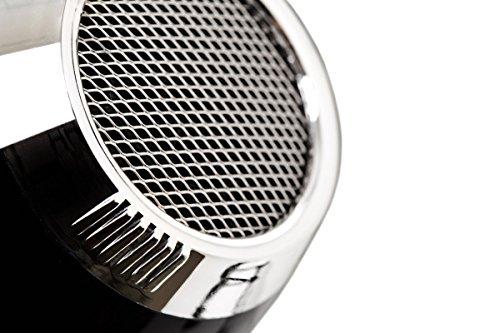 Elchim 3900 Healthy Ionic Hair Dryer: Professional Ceramic Blow Dryer - 2000 Watt, Black / Silver