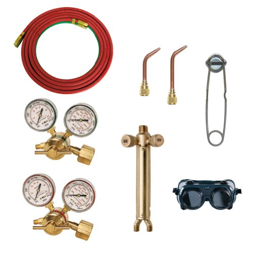 Goss KA-700-M Oxygen Acetylene Kit with Stubby Tips (Stubby Tank)