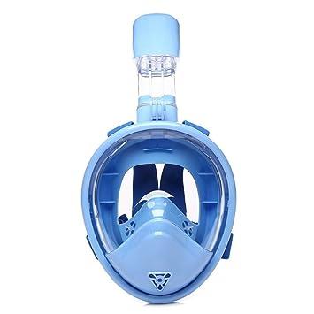 QLIGHA Máscara De Buceo Niños Cámara Antivaho Snorkel Gafas De Natación Equipo De Snorkel De Secado