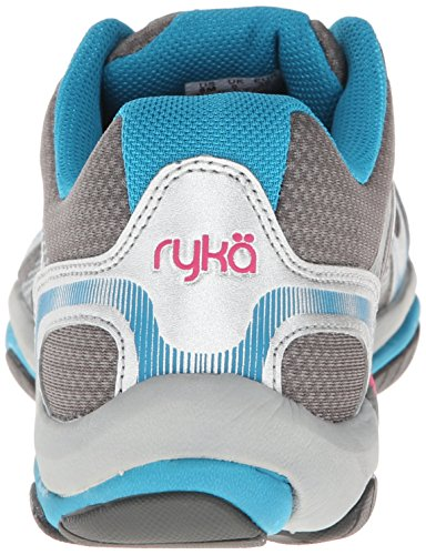 RYKA Women's Influence Cross Training Shoe Steel Grey/Chrome Silver/Diver Blue/Zuma Pink pre order cheap online cheap affordable M2jbYOeRJ