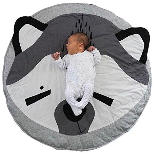 Matoen Cartoon Baby Infant Creeping Mat Playmat Blanket Play Game Mat Room Decoration (F)