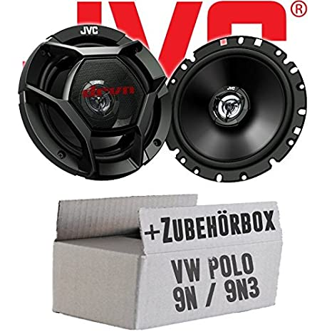 JVC CS-DR1720-16cm 2-Wege Koax-Lautsprecher - Einbauset für VW ...