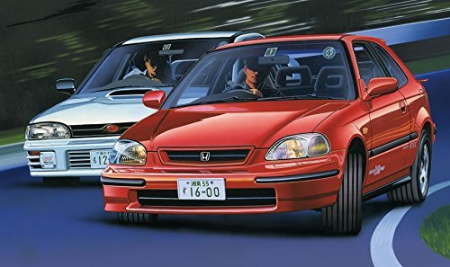 - Fujimi TOHGE-13 Honda Miracle Civic SIR II 1/24 Scale Kit
