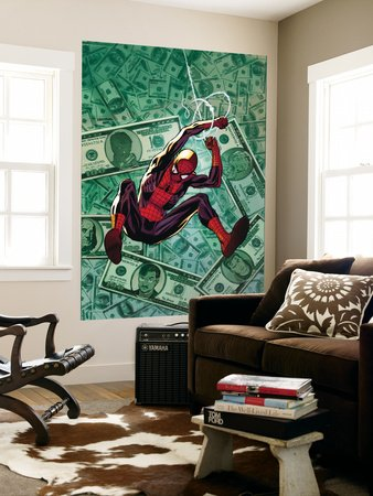 The Amazing Spider-Man No.580 Cover: Spider-Man Giant Art Poster Print by Lee Weeks, 48x72