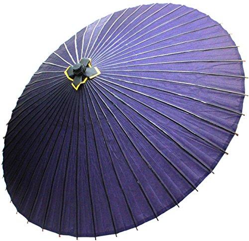 Japanese Umbrella Janome Habutae Bangasa Purple by Kimono Japan