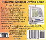 Powerful Medical Device Sales 5 Users, Farb, Daniel and Gordon, Bruce, 1594912777
