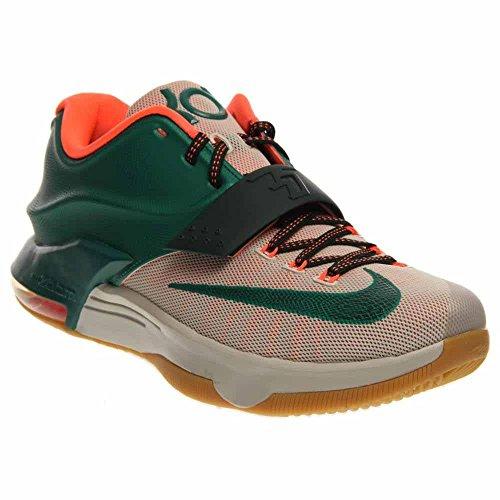 new concept 2aa97 64e23 Nike Men s KD VII Basketball Shoe (10, Mystic Green Light Brown (653996