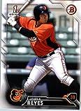 2016 Bowman Prospects #BP12 Jomar Reyes Baltimore Orioles Baseball Card in Protective Screwdown Display Case