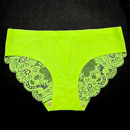 RRRRZ*ropa interior de encaje con baja cintura femenina 1 chip sin marca la Sra