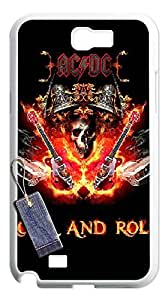 ACDC cases for Samsung Note2,Samsung Note2 phone case,Customize case for Samsung Note2 By PDDSN.