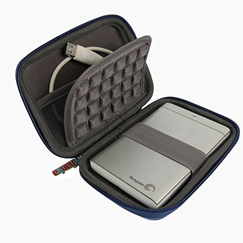 For WD My Passport Portable External Hard Drive Carrying EVA Case by Khanka