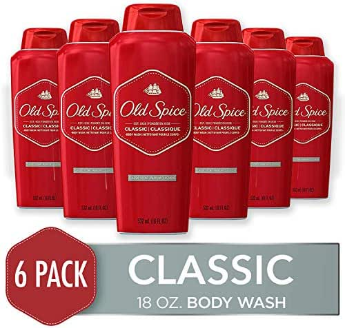 Body Washes & Gels: Old Spice Classic Body Wash