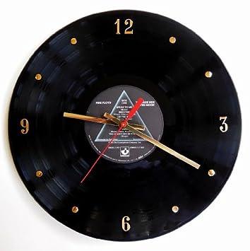 PINK FLOYD Vinyl Record Clock The Dark Side Of The Moon