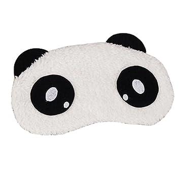 dd81449c35c Image Unavailable. Image not available for. Color  Cute Panada Sleeping Eye  Mask Sleep Mask Eye-shade Aid-sleeping ...