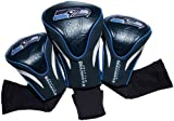 NFL Seattle Seahawks 3 Pack Contour Head Covers