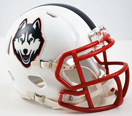 Connecticut Huskies 2015 Speed Mini Football Helmet ()
