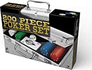 200ct 4gr Poker Chips with 2 Decks Playing Cards