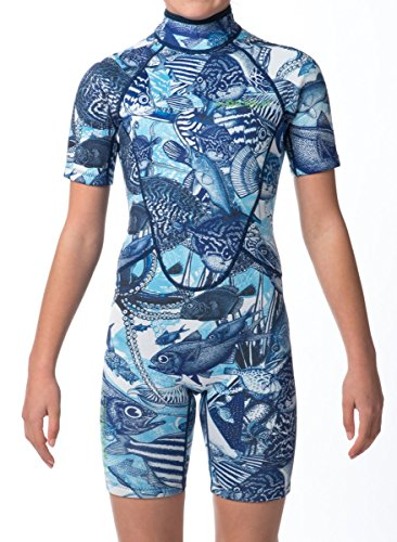 WETSUIT SHORTY ULTA-STRETCH, DOUBLE LAYERED, LUXURIOUS, BOUTIQUE DESIGNS FOR KIDS YOUTH 8-14yrs