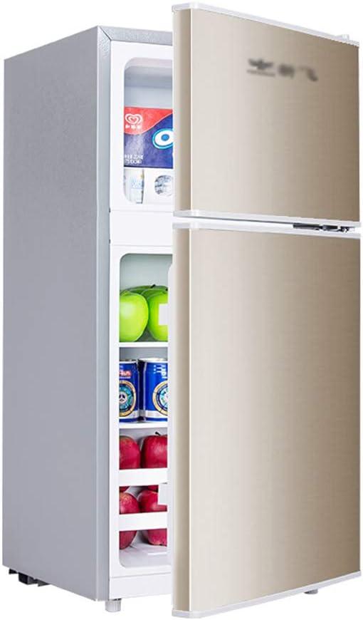 refrigerador de Doble Puerta, Mini congelador, 58L, hogar de bajo ...