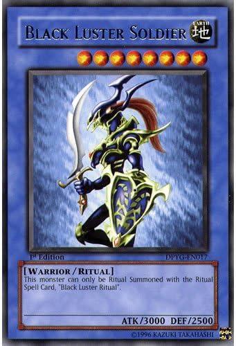y/ûgi duelliste Pack Yu-Gi-Oh. carte unique Yu-Gi-Oh Cartes /à jouer dpyg-en017/1st ED Noir Lustre soldat Carte Rare/ /