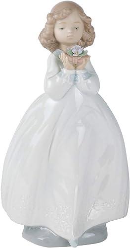 NAO The Flower Girl. Porcelain Girl Figure.