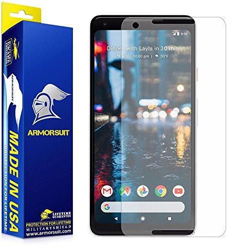 Price comparison product image Google Pixel 2 XL Anti-Glare Screen Protector [Case Friendly] ArmorSuit MilitaryShield Lifetime Replacements Matte Screen Protector For Pixel 2 XL