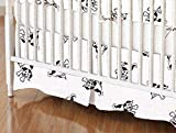 SheetWorld Crib Skirt (28 x 52) - Doggies - Made in USA
