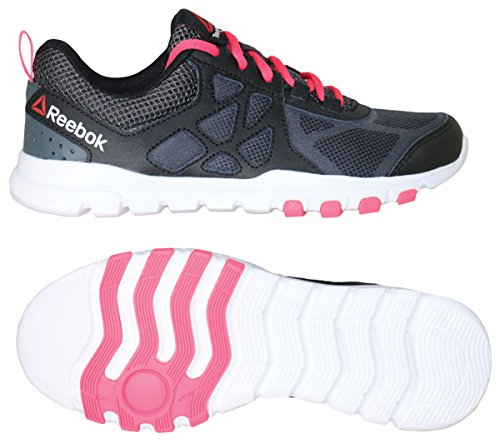 Zapatillas De Entrenamiento Reebok Para Mujer Sublite Train 4.0 L Mt Black / Gravel / Solarpink / White