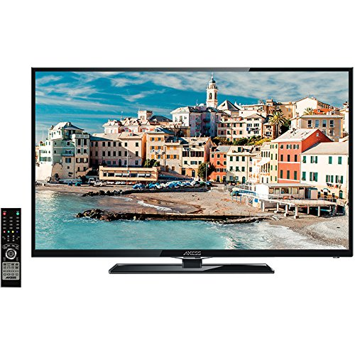 Axess LCD TV with ATSC Tuner, Rechargeable Battery and USB/SD Inputs
