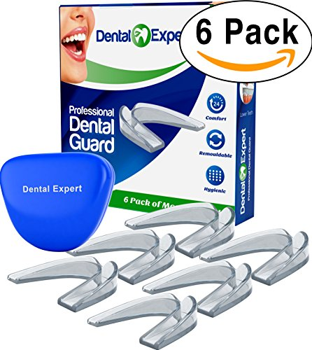 6 Pack Mouth Guard [STOPS TEETH GRINDING