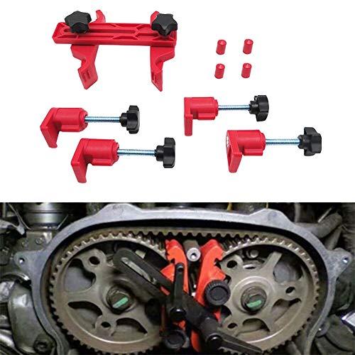 (Shentesel 5Pcs Camshaft Lock Holder Car Engine Cam Timing Locking Tools Set)
