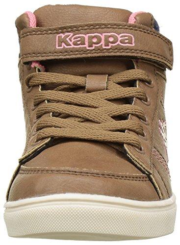 Kappa Mädchen Barky Low-Top Marron (923 Brown/Pink)