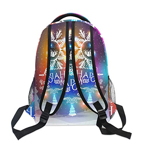 Ahomy Bag Teenager Travel Book for School Women Boys Girls Hiking Bag New for Men Backpack Satchel Year Backpack Snowflake rA4xgrqwZ