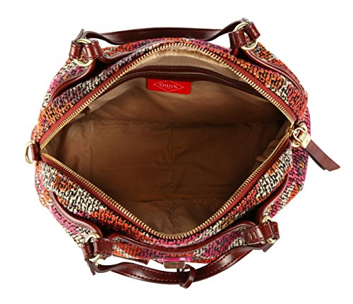Oilily Floral S Handbag Dashing Fuchsia