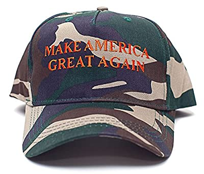 Make America Great Again Embroidered Donald Trump 2016 Unisex Adult Hat Cap Camo