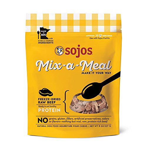 UPC 755709830242, SOJOS Mix-A-Meal Freeze Dried Beef, 8 oz.