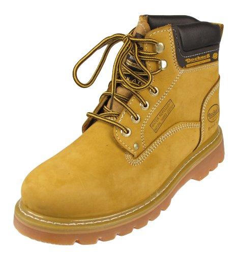 Beste Qualität DOCKERS Herren Boots Leder Schuhe Schwarz