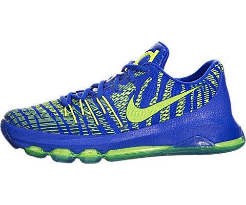 Nike Kids KD 8 (GS) Hyper Cobalt/Volt/Dp Ryl Blue Running...