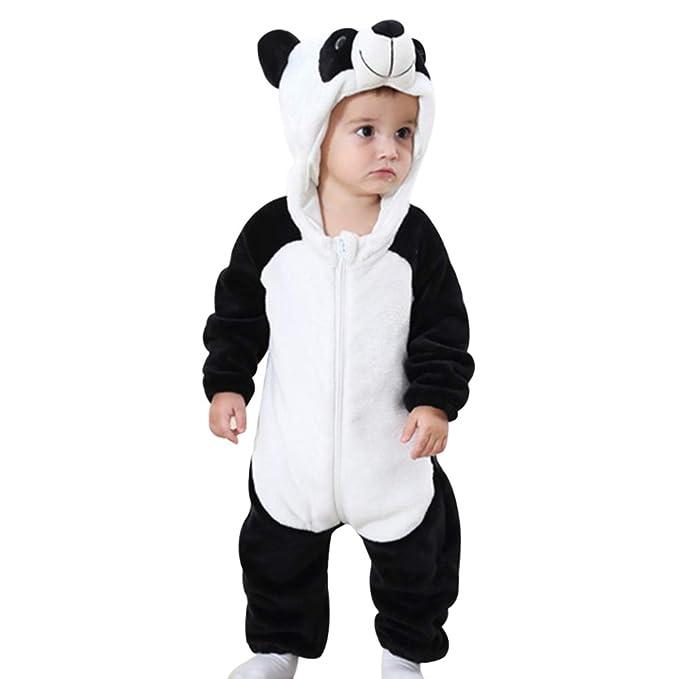Litthing Pijamas Recien Nacidos de Primavera y otoño de Franela con ...
