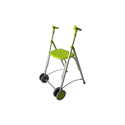 Forta fabricaciones - Andador de aluminio con asiento de FORTA Kamaleón - Pistacho, Sin ruedas