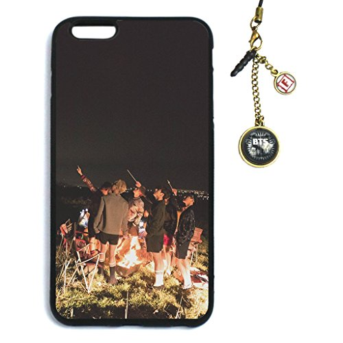 Fanstown KPOP BTS Bangtan Boys in the mood for love EPILOGUE:Young Forever iPhone 6 plus/iPhone 6s plus case + Dust plug charm (018)