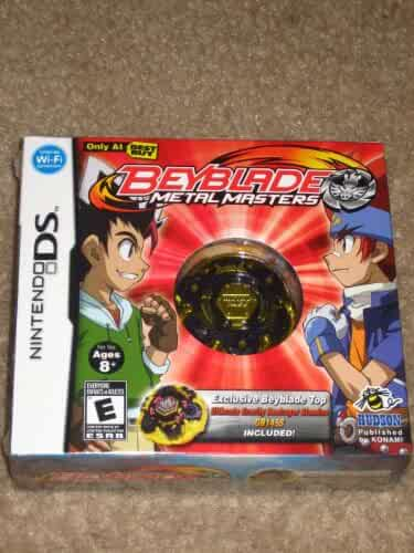 Amazon Com Nintendo Ds Beyblade Metal Masters Game With
