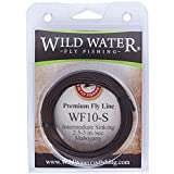 Wild Water Weight Forward 10-Weight Mahogany Intermediate Fly Fishing Line, 90 ft.